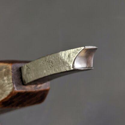 detail of head of a waist iron