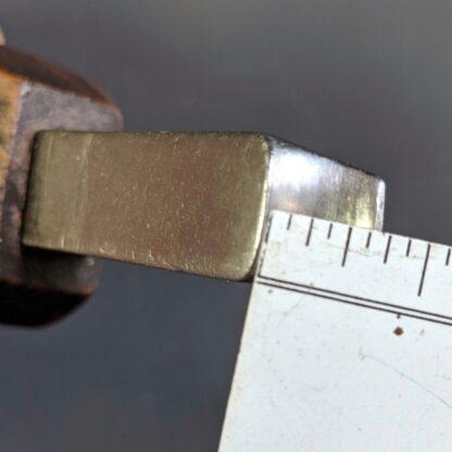 waist iron size chart