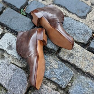 chukka boots with leather soles