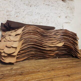 Oak bark leather