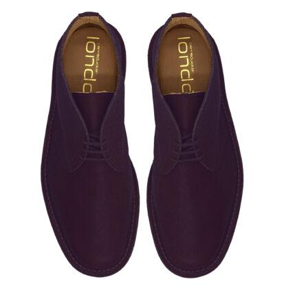 purple desert boots